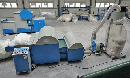 Textile Shredding / Defibering machine ( Two Units)