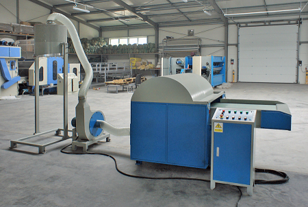 Textile  Shredding / Defibering Machine
